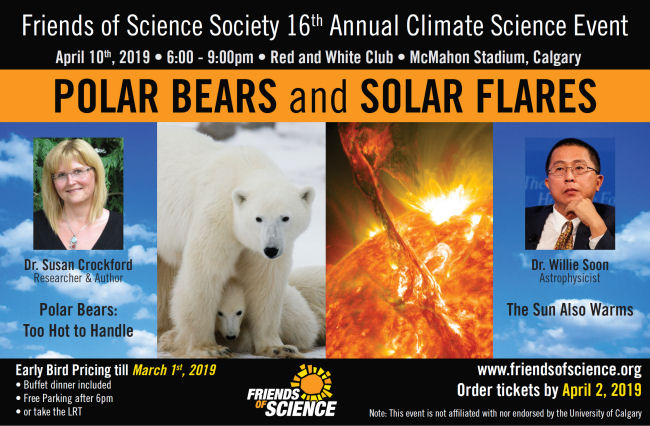 Polar bears and solar flares