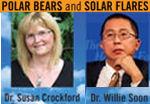 Polar bears and solar flares