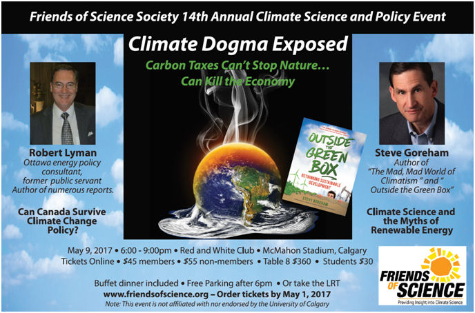 Climate Dogma Exposed May 9, 2017
