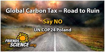 Carbon Tax = Road to Ruin